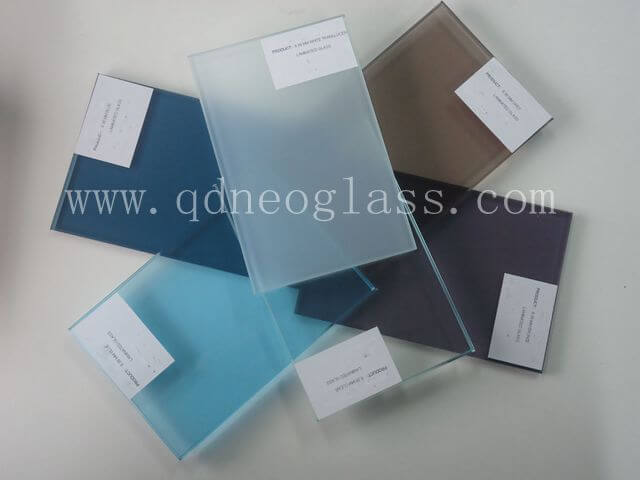 Colorful laminated Glass Series