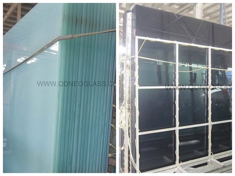 Tint Laminated Glass-Grey & White Translucent