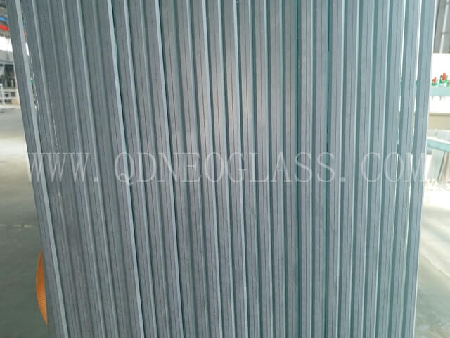 Rough Arris Laminated Glass