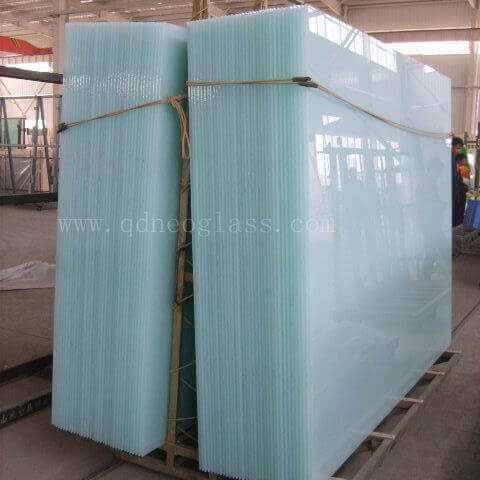 White TRANSLUCENT LAMINATED GLASS,Milky White Laminated Safety Glass, Opal White Laminated Safety Glass