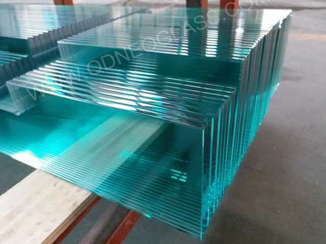 Polished Glass Shelf