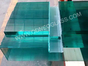 Tempered Stair Railing Glass-AS/NZS 2208: 1996, CE, ISO 9002