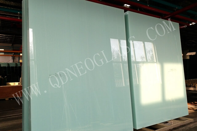 Cut To Size White Translucent Laminated Glass