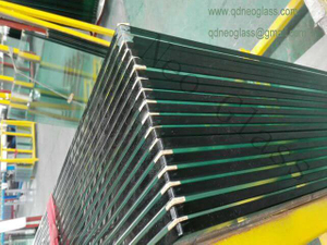 Tempered Balcony Glass with Holes-AS/NZS 2208: 1996, CE, ISO 9002