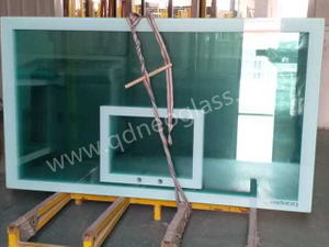 Basketball Board Glass-Tempered Glass With Ceramic Frit/ SilkScreen Print