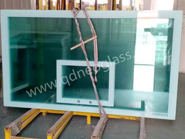 Tempered Basketball Board Glass