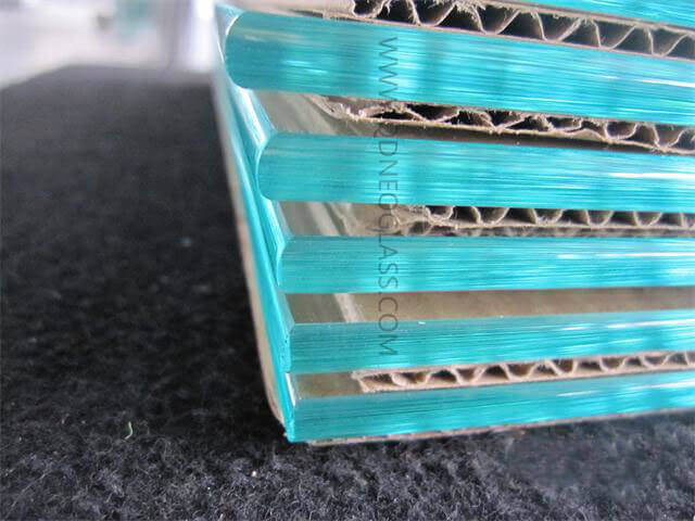 C Edge Polished Glass Sheet For Furniture and Cabinet