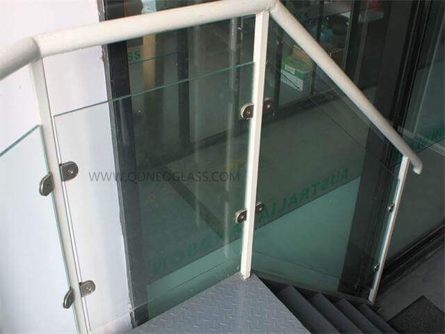 Toughened Laminated Balustrade Glass with Holes