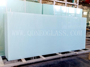 5.38-16.76mm White Translucent Laminated Glass-AS/NZS 2208: 1996, CE, ISO 9002