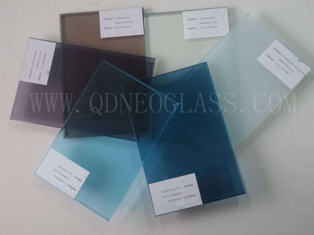 Colorful Lamiated Glass